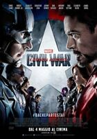 Captain America - Civil War Avengers Marvel DVD MARVEL