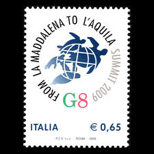 Italy 2009 - Celebrating G8 Summit - Sc 2947 MNH