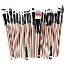 20pcs Makeup Brush Set Foundation Powder Toiletry Kit Wool Cosmetic Brushes B2