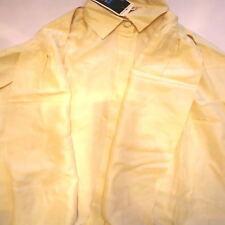 Camicetta camicia lusso 100% pura seta NARACAMICE EE IV taglia 48 50 con sciarpa