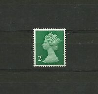 Great Britain Machin 2p FCP PVAD 2B  SG U78 MNH