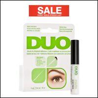 DUO Eyelash Glue Dark Clear White Brush on Striplash Adhesive False Lash Glue UK