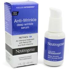 NEUTROGENA Ageless Intensives Anti-Wrinkle Deep Wrinkle Serum 29mL  New In Box