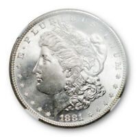 1881 S $1 Morgan Dollar NGC MS 67 Uncirculated Mint State Lustrous Beauty !