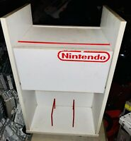 Vintage 1980's Nintendo NES Rolling Cart/Shelf/Stand 100% Original And Authentic