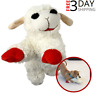 Multipet Lamb Chop Dog Toy Plush & Squeak Toys for Dogs Puppies 10'' w/ Squeaker