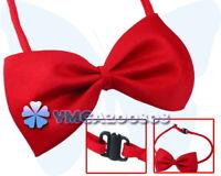 Red grooming Tuxedo bow tie Necktie for dog cat pet