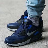 Mens Nike Air Max 90 Sneakers New, Binary Blue 537384-418 sz 8 AA
