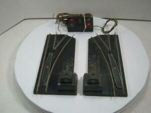 American Flyer Right & Left Hand Switch Track & Controller