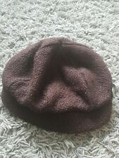 John Rocha Knit Hat With Button Detail, One Size