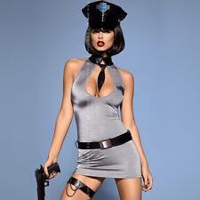 Donna sexy donna della Polizia Poliziotto Uniforme Costume Hen Night Party Vestito