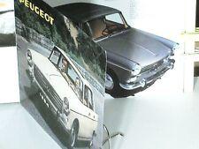 BEAU PROSPECTUS 1964 GAMME PEUGEOT 404 9cv, INJECTION, SUPER LUXE, DIESEL