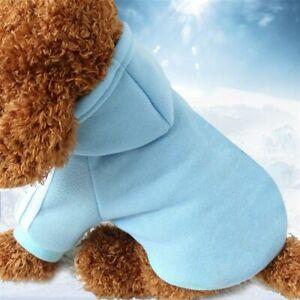 Pet Coat Autumn Winter Pet Dog Products Sweater Soft Cotton Dog Hoodies Clothing