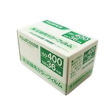 10 rolls Fujicolor Industrial Film 400 36 exp