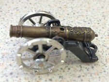 4cm 16th Century Cannon Tudor Model Medieval Ornament Birthday Gift Soldiers BN