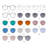 2020 Classic Small Frame Round Sunglasses Women/Men Brand Designer Alloy Mirror