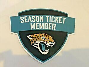 NEW Jacksonville Jaguars Magnet Vinyl Auto Fridge NFL Football Team Season