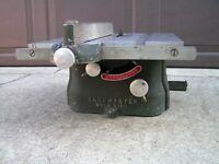 "Vintage Shopmaster Minneapolis USA Belt-Driven Table Saw w/ 6 New 5 1/2"" Blades"