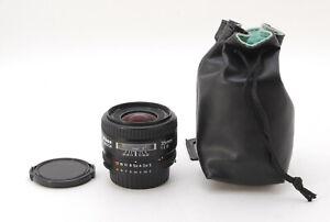 【N MINT 】 Nikon AF NIKKOR 35mm f/2 D AF-D Wide Angle Lens from JAPAN #911
