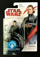 """NEW STAR WARS General Leia Organa The Last Jedi 3.75"""" Force Link ACTION FIGURE!"""