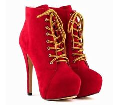 Stiletto Suede Medium Width (B, M) Casual Boots for Women