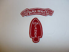 b1794 USA Canada WW2 First Special Service Force 2Rec Black Devils F.S.S.F.  R4B