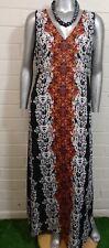 Women's PLUS MAXI DRESS Size 4XL  VERSATILE  V~Neck Sleeveless NWOT