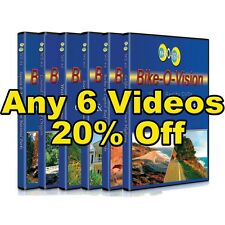 Bike-O-Vision BLU RAY Cycling Video 6-Disc Pack 20% OFF