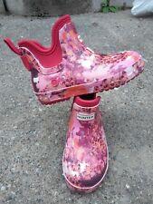 Hunter kids rain boots 10