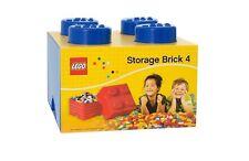 Lego Storage Brick - Blue 4 Knob