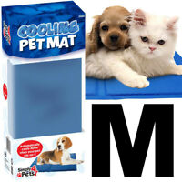 Pet Dog Cat Cooling Gel Mat Bed Summer Heat Relief Non Toxic Cushion Pad 45x60cm