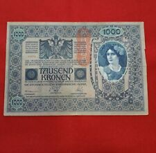 AUSTRIA 1000 CORONAS 1902. TAUSEND KRONEN 1902. EBC