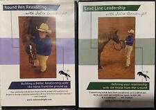 Julie Goodnight-Set Of 2 Dvd's -Round Pen Reasoning & Lead Line Leadership