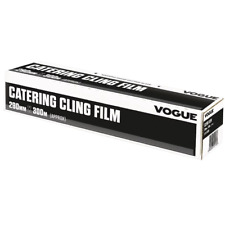 Vogue Cling Film 290mm 300m with Serrated Cutting Blade