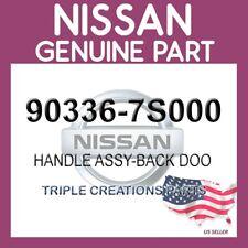 Genuine Nissan INFINITI OEM 90336-7S000 HANDLE ASSY-BACK DOOR HATCH 903367S000