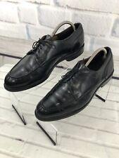 Allen Edmonds Bradley Men's Black Leather Split Toe Oxford Dress Shoes Sz 10 D
