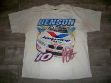 Vtg NASCAR Race Car T Shirt Men's Johnny B Good Benson All Over Print Racing XL