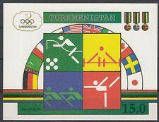 TURMENISTAN, 1992 Block 2 **, (21614)