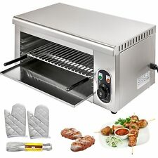 Cheese Melter Electric Cheesemelter 2000w Salamander Broiler Bbq Gril Countertop