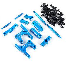 YR Aluminum Rear Four Link Conversion Blue For Tamiya CC01 Jeep Landcruiser