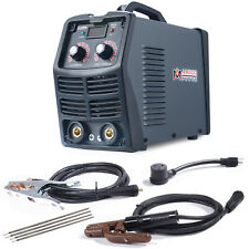 Mma 200 200 Amp Stick Arc Dc Welder 110v220v Digital Inverter Igbt Welding