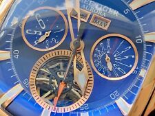 Reef Tiger 🇬🇧 45mm Luxury Tourbillon Automatic Aurora Tank II Steel Watch