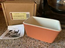 Longaberger Pottery Spice Rectangular Dish - New In Box