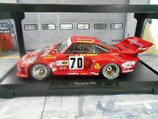 PORSCHE 935 Turbo 24h Le Mans 1979 #70 Barbour Newman BP Hawaiian Norev SP 1:18