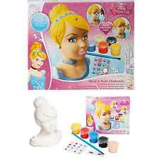 Disney Princess Paint & Style your own Cinderella Figure Head 3+ Years