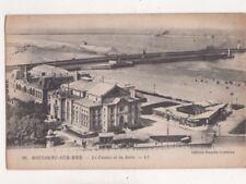 Boulogne Sur Mer Casino & Jetee LL 88 France Vintage Postcard US078