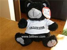 "Congratulations 9"" Black & White Papa Bear BNWT Present"