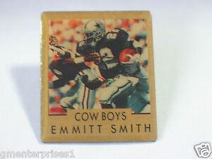 Emmit Smith Football Player Pin, 1990, 1991 Editon Dallas Cowboys Vintage Pin