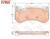 FOR MERCEDES W204 C63 AMG FRONT BRAKE PAD PADS SET O.E QUALITY TRW 2007-