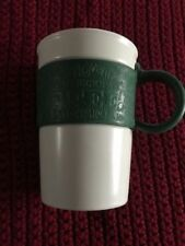 "Starbucks Coffee Mug with Green Rubber Band ""2008""  series"